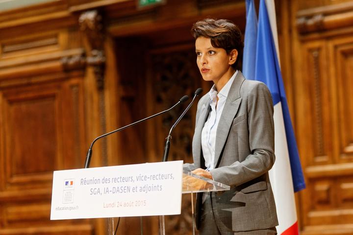 Réunion de rentrée 2016 - discours de Najat Vallaud-Belkacem