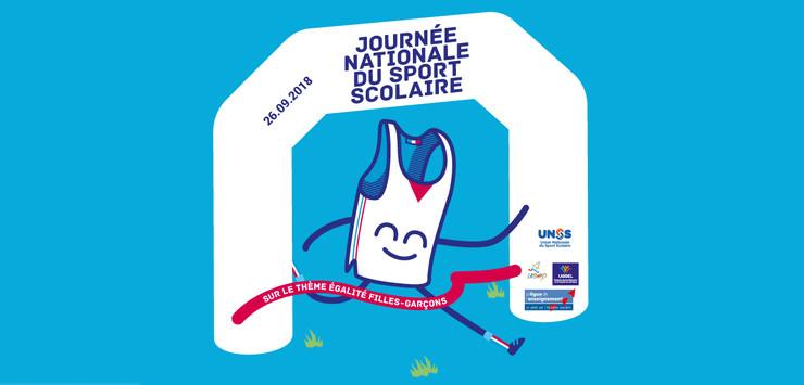 Affiche journée du sport scolaire