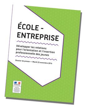 Ecole Entreprise 2016 - couv