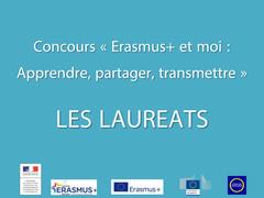 Lauréats du concours Erasmus+ et moi