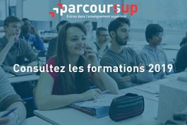 Parcoursup : toute l'information sur les formations 2019