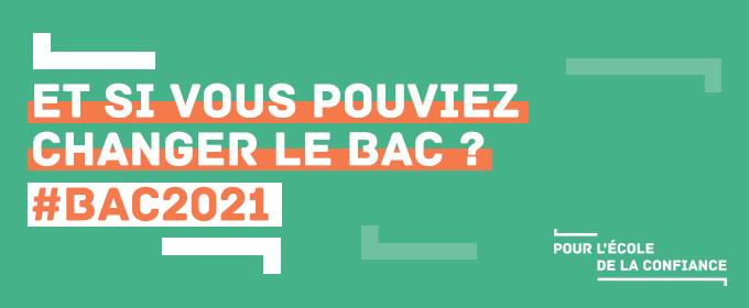 #Bac2021 : consultation en ligne auprès des lycéens