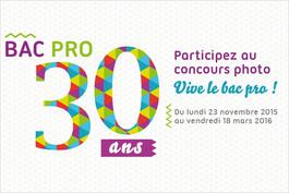 Vive le bac pro ! : participez au concours photo