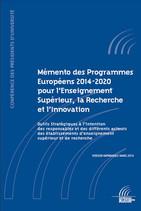 Memento Programmes Européens