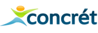 Logo de l'application CONCRET