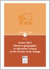 Cedre 2012, histoire-géographie et éducation civique en fin d'école et de collège