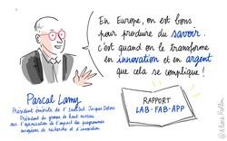 AR Pascal Lamy rapport LAB FAB APP