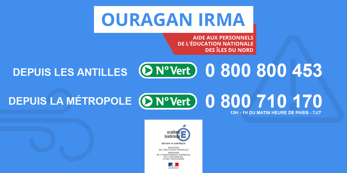 Ouragan Irma © MEN