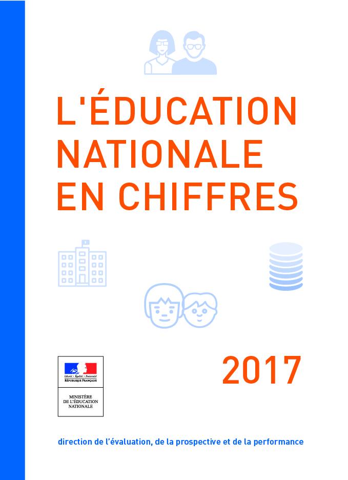 Education nationale en chiffres 2017