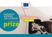 Prix EIC Horizon 2018 : Batteries innovantes pour véhicules électriques