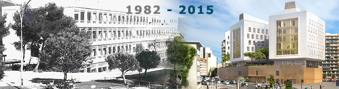 L'université de Toulon de 1982 à 2015