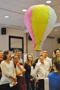 Équipe lauréate collège Arsène d'Arsonval - Saint-Germain-les-belles