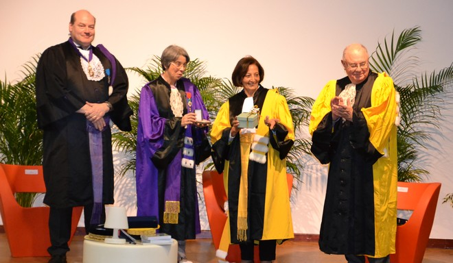 Doctor Honoris Causa Ophélia Riad El Pharaony