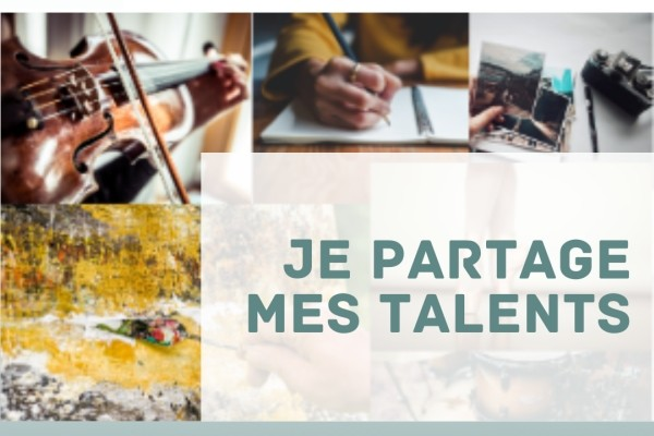Illustration : Je partage mes talents