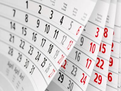Calendrier des journées d'information ERC, FET et Marie S.-Curie