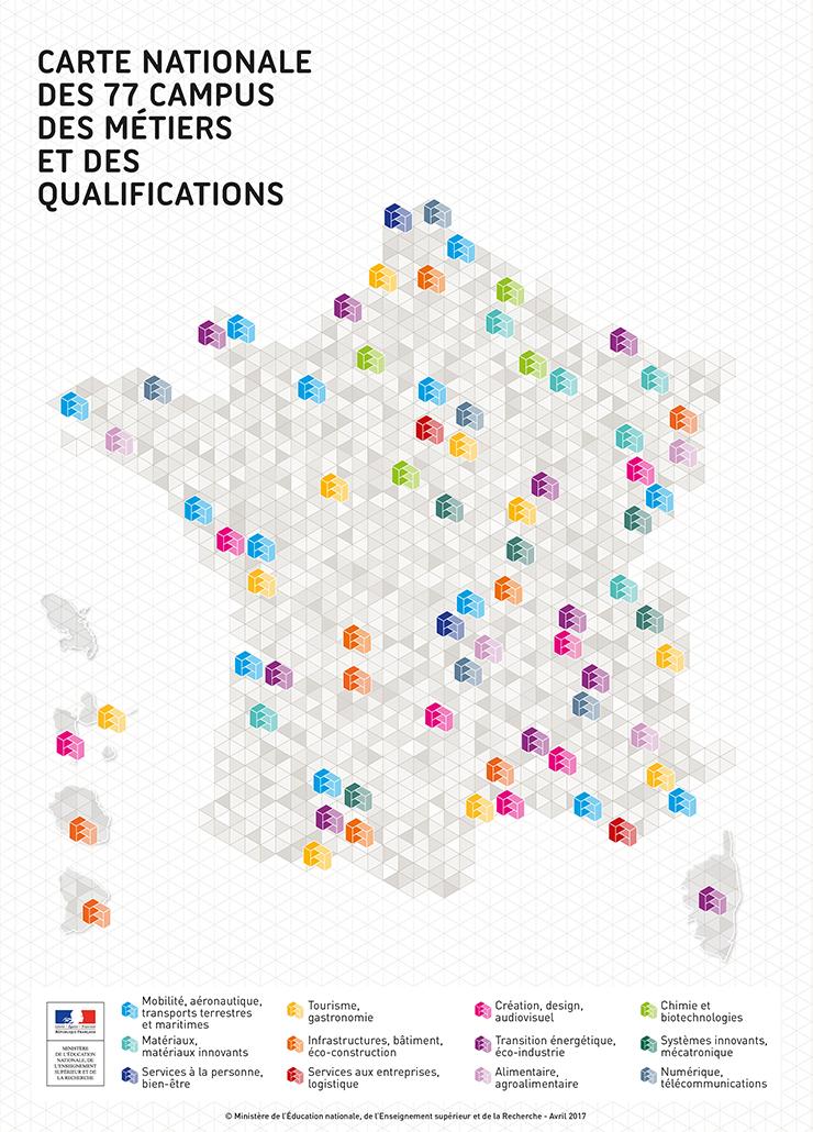 Label Campus des métiers et des qualifications