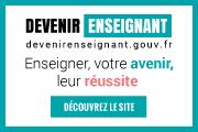Découvrez le site devenirenseignant.gouv.fr