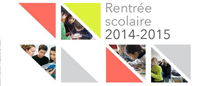 Rentrée scolaire 2014-2015