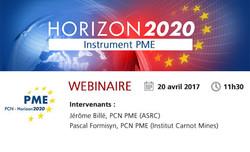 Promo Webinaire Instrument PME H2020