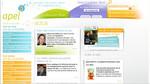 Page d'accueil du site de l'association Apel