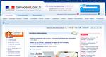 Page d'accueil du site Service public.gouv.fr