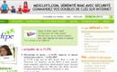 Page d'accueil du site de l'association fcpe
