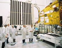 Déploiement panneaux solaires de Sonde Venus Express