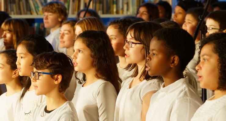 Chorale au collège