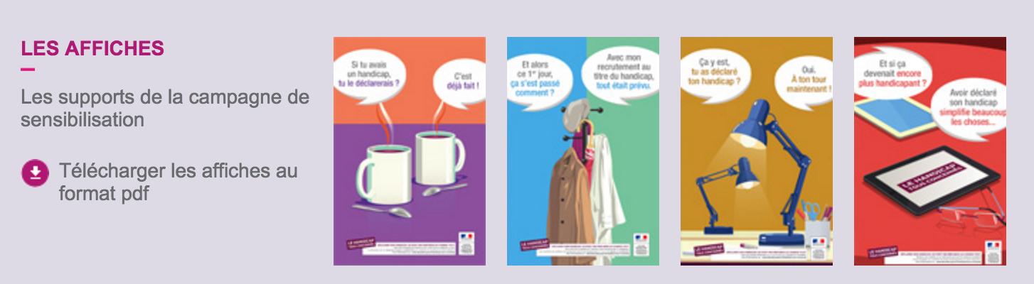 Téléchargez les affiches de la campagne