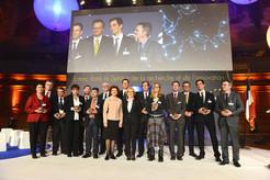 Lancement du programme européen Horizon 2020 : trophée Les étoiles de l'Europe