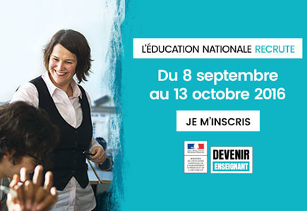 L'éducation nationale recrute