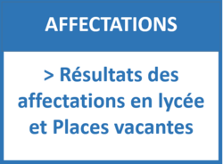 resultats affectations lycée et places vacantes