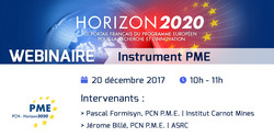 Webinaire Instrument PME - 20 décembre 2017