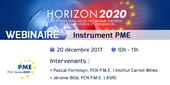 Webinaire sur l'Instrument PME d'Horizon 2020