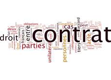 Contrat convention de subvention