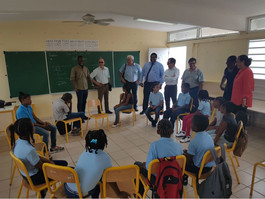 Retour à l'école pour les élèves de Saint-Martin
