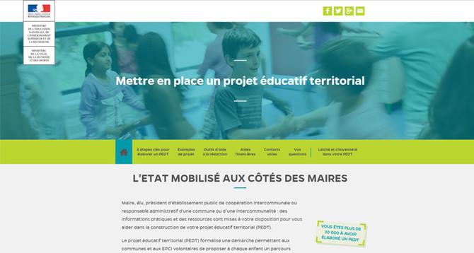 Nouvelle fenêtre vers le site Pedt.education.gouv.fr