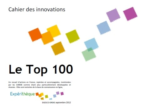 Couverture Top 100 des innovations