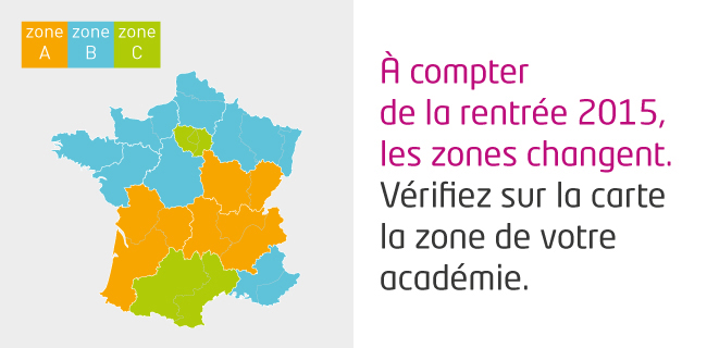 Le calendrier scolaire minist re de l 39 ducation nationale - Vacances de fevrier 2017 paris ...