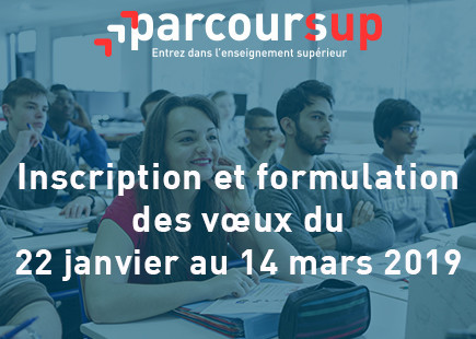 ParcourSup inscription 2019