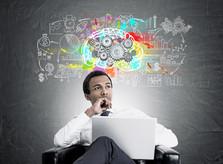 cerveau idée pensée réflexion projet