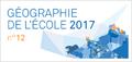 Géographie de l'École, douzième édition, 2017