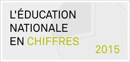 L'éducation nationale en chiffres 2015