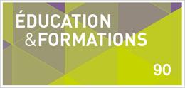 Revue Éducation et formations - n° 90, avril 2016: Inégalités sociales, motivation scolaire, offre de formation, décrochage