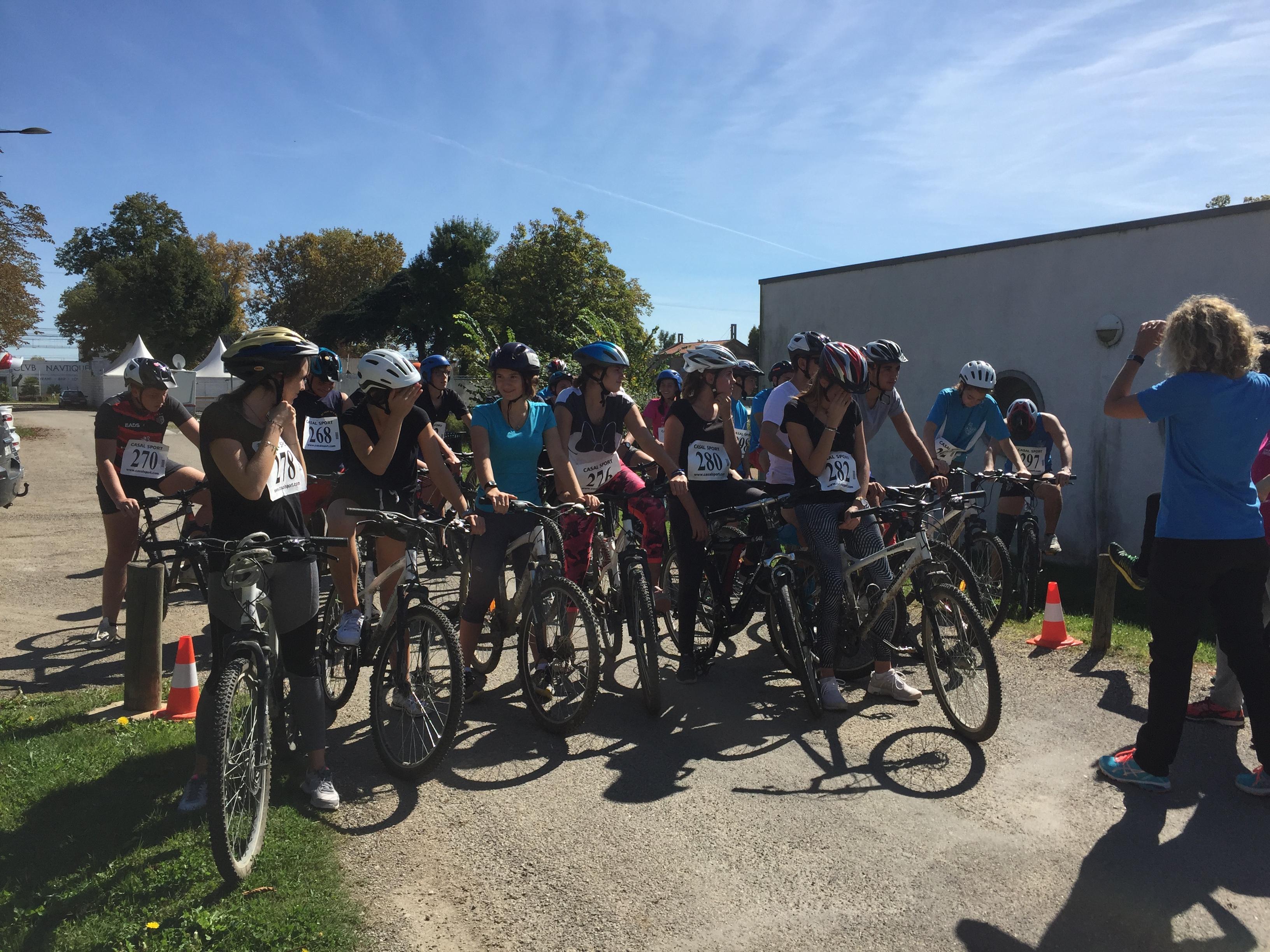 Fête du sport run and bike