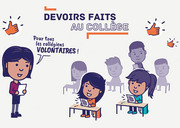Devoirs faits au collège