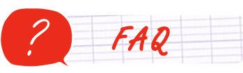 bouton foire aux questions bac (faq)