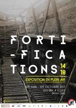 affiche de l'exposition Fortifications 14-18