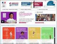 nouvelle fenêtre vers le site www.service-civique.gouv.fr