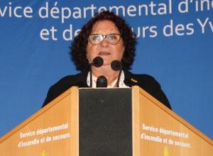 Sylvette PIERRON, Présidente de l'Institut Français des Formateurs Risques Majeurs et protection de l'Environnement (IFFO-RME)